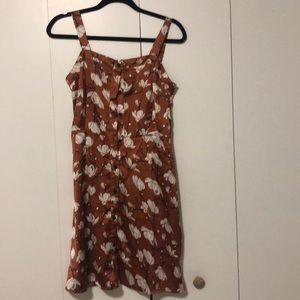 Nasty gal brand silk mini dress